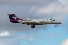N991AL Learjet 35-216 KFXE (CanAmJetz) Tags: n991al learjet 35216 kfxe fxe aircraft airplane landing bizjet nikon