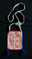 Huichol Bag Bolsa Jalisco Mexico Textiles (Teyacapan) Tags: wixarika huichol bolsa bag purse mexican textiles embroidered