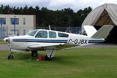 C-GJBX  Beech J35 Bonanza [D-5360] Ottawa-Macdonald Cartier Int'l~C 18/06/2005 (raybarber2) Tags: airportdata cnd5360 canadiancivil cgjbx cyow d5360 filed flickr oldtimer planebase raybarber single