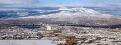 The city in winter (simonov) Tags: virginiarange hiking mountains snow winter reno pano panorama peavinepeak peavine peak