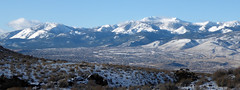 Mt Rose panorama (simonov) Tags: virginiarange hiking mountains snow winter reno pano panorama humboldtnationalforest carsonrange mtrose