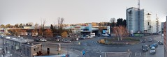 The Stations Roundabout (neuphin) Tags: redhill surrey marketfield way redevelopment construction liquid envy cinema apartments roundabout panorama station