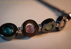 Crafted (HMM) (13skies) Tags: handmade macromondays bracelet made crafted skill talent art pride hmm sonyalpha100 sony beads metal happymacromondays happymacromonday macro macroscopic close light shadows