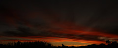 Sunset 045_stitch (Az Skies Photography) Tags: december 12 2019 december122019 121219 12122019 sun set sunset dusk twilight nightfall sky skyline skyscape cloud clouds rio rico arizona az riorico rioricoaz arizonasky arizonaskyline arizonaskyscape arizonasunset red orange yellow gold golden salmon black canon eos 80d canoneos80d eos80d canon80d panorama