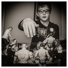 Spend time with your kid (s) (_Matt_T_) Tags: actionfigures wrestlers portrait wwe af540fgz itssportsentertainment playtime 365 bw fan play havefunstayyoung