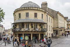 Corner of Monmouth and Westgate, Bath, England (Billy Wilson Photography) Tags: 2019 adventure biketour cycling europe bike tour somerset somersetshire uk united kingdom england british britain architecture historic bath city unesco world heritage site stone georgian regency