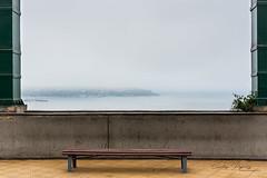 Cold (Carlos Pizarro Photography) Tags: encuadrenatural mar lima miraflores larcomar peru bench banca sea