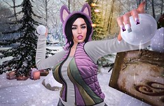 Snow ⛄ (ღ Sɑrɑɑh Drɑgoone ღ) Tags: logo stunneroriginals justice fameshed designercircleevent doe maitreya avatar av bentoav body brazil blogger brunet cute delicius event eyes wolf fashion face fun forest snow girl gorgeous gameonline head hair hands nail lifestyle pic wix ligth luzes lady mesh meshhead new photo pose power pretty princess pink peace queen retrato relax secondlife sexy sl shop sensual sweet secondlifephoto style holiday christmas xmas vacation woman