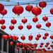 Red Street Lanterns
