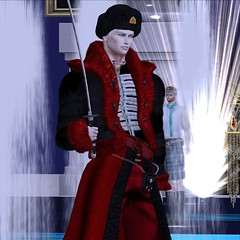 MR SL ♛ Russia 2020 - National Costume Challenge - 12/14/19 (Darien FaNg) Tags: russia fur cossack ushanka sword insignia mrsl2020 ms pageant runway catwalk model modeling models competition