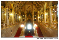The Great Hall (Kurokami) Tags: hungary budapest building king parliament kings government crown royalty scepter coronation regalia hungarian people statue gold golden model models statues gargoyle sword gargoyles common travel vacation history memorial europe roots pilgrimage 2019