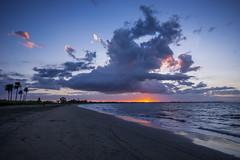 Sunset (agasfer) Tags: 2019 fiji vitulevu pentax k3 sigma1020 beach sunset cloudsstormssunsetssunrises sand sea sky clouds nadi wailoaloa