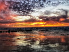 IMG_6356 (Dan_lazar) Tags: sunset israel telaviv netanya beach sky clouds עננים שקיעה השתקפויות ים חוף נתניה תלאביב ישראל reflections
