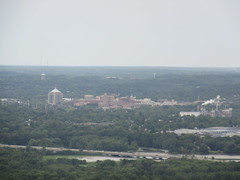 Wausau, Wisconsin from Rib Mountain (Prairie Star) Tags: cloudy wisconsin city skyline clouds midwest unitedstates interstate39 wausau statepark ribmountain