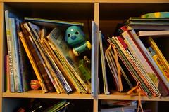 Bookshelf of the children (Henry Söderlund) Tags: sigma2470mm28 sigma sigma2470 sample images test photos lowlight street helsinki finland bokeh sigma2470mm28art sharpness vignetting distortion sonyfe sonye sony