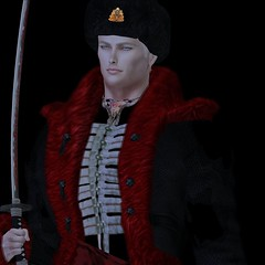 MR SL ♛ Russia 2020 - National Costume Challenge - 12/14/19 (Darien FaNg) Tags: russia cossack ushanka insignia fur mrsl2020 msslorganization pageant runway catwalk model models modeling competition