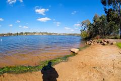 Gosling Creek Reserve (Erich Schieber) Tags: australia dam lake landscape shadow orange
