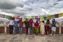 "Swayambhunath Stupa aka Monkey Temple. Kathmandu, Nepal (Ann Kruetzkamp) Tags: prayerflags kruetzkamp ann annkruetzkamp documentary photography photojournalism markets ""adventureconsultants"" nepali nepal kathmandu october 2019 adventure travel canon ""d5markiii"" ""canonphotography"" ""adventurephotography"" ""travelphotography"" autumn market ""swayambhunathstupa"" stupa buddha buddhist buddhism holy religion ""monkeytemple"" gold"