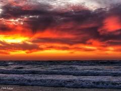 IMG_6370_1 (Dan_lazar) Tags: sunset israel telaviv netanya beach sky clouds עננים שקיעה השתקפויות ים חוף נתניה תלאביב ישראל reflections