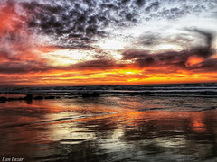 F99616F7-11F0-48FA-A163-478F22BBE2C8 (Dan_lazar) Tags: sunset israel telaviv netanya beach sky clouds עננים שקיעה השתקפויות ים חוף נתניה תלאביב ישראל reflections