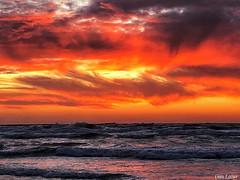 9EAE6561-F960-4B89-9703-3314C1C7E944 (Dan_lazar) Tags: sunset israel telaviv netanya beach sky clouds עננים שקיעה השתקפויות ים חוף נתניה תלאביב ישראל reflections