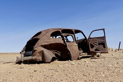 Once someone's pride and joy (daj333) Tags: australia outback southaustralia relic decay abandoned lumix fz300 panasonic car wreck oodnadattatrack
