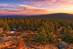 Sunrise in Jeseniky Mountains (emilstrnadel) Tags: landscape morning mountains sunrise