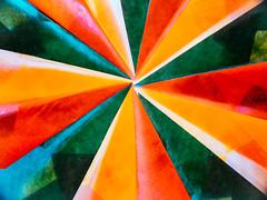 "Folded (for macro mondays theme ""handmade"") (HeiJoWa) Tags: ""handmade"" macromondays gefaltet stern star paper backlit makro nachaufnahme panasonic fz1000 raynox150 herrnergal deutschland bunt colorful farbe color papier kunst art handwerk folded monday handmade macro basteln tinker lightroom adobe abstract abstrakt lumix"