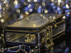 Handmade (milan_146) Tags: macromondays handmade box wire glass jewellery light bokeh lightroom macro closeup d7100 nikkor nikkor105mmf28gvrmicro
