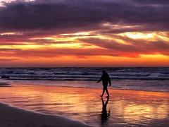 IMG_6405 (Dan_lazar) Tags: sunset israel telaviv netanya beach sky clouds עננים שקיעה השתקפויות ים חוף נתניה תלאביב ישראל reflections