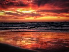 IMG_6382 (Dan_lazar) Tags: sunset israel telaviv netanya beach sky clouds עננים שקיעה השתקפויות ים חוף נתניה תלאביב ישראל reflections