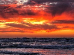 IMG_6373 (Dan_lazar) Tags: sunset israel telaviv netanya beach sky clouds עננים שקיעה השתקפויות ים חוף נתניה תלאביב ישראל reflections