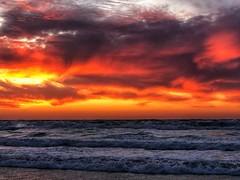 IMG_6370 (Dan_lazar) Tags: sunset israel telaviv netanya beach sky clouds עננים שקיעה השתקפויות ים חוף נתניה תלאביב ישראל reflections