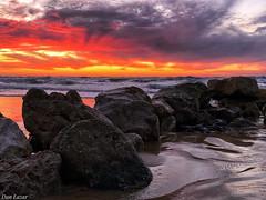 8D965337-8D9C-4EF9-AF36-C0753697A9AB (Dan_lazar) Tags: sunset israel telaviv netanya beach sky clouds עננים שקיעה השתקפויות ים חוף נתניה תלאביב ישראל reflections