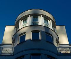 Light play (jefvandenhoute) Tags: belgium belgië brussels brussel light geometric houses