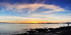 2014-10-05 Sunset (07) (2048x1024) (-jon) Tags: anacortes skagitcounty skagit washingtonstate washington salishsea fidalgoisland sanjuanislands pugetsound washingtonpark looproad westbeach greenpont rosariostrait pnw pacficnorthwest pacificocean pacific ocean sunset sky cloud clouds a266122photographyproduction