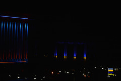 Zaporizhzhya (Кевін Бієтри) Tags: very nice view city zaporizhzhya ukraine light night architecture stage lighting dark building theater neon blue indoors outdoor interiordesign insubstantial sitting art darkness concert sky room music midnight lit auditorium ukraina ua kevinbietry kevinbiétry spotterbietry