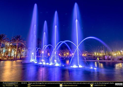 Salou's Magic Fountain