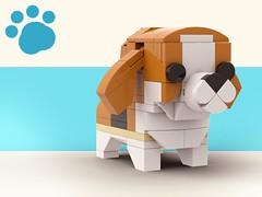 Lego Doggo_Beagle (legotruman) Tags: lego legomoc legoideas legogram legomania legofan afol dog puppy dogs beagle shibe pug husky puppies german shepherd legoart brickcentral animal toyphoto plush legophoto cute kawaii adorable aww