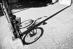 L'ombre-du-vélo (RS...) Tags: arles vélo bike ombre shadow noiretblanc blackandwhite d7200