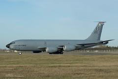 USAF, Boeing KC-135R (58-0113) 'All American Girl', 351st ARS/100th ARW (mattmckie98) Tags: aircraft aviation airforce usaf us kc135 stratotanker tanker jet nikon military mildenhall