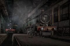 God's Wonderful Railway (photofitzp) Tags: 6023 6998 atmosphere didcotrailwaycentre gwr locomotives railways smoke steam timelineevents