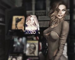 I think it's gonna be a good year.. (Aubray Beaumont) Tags: ricielli douxhair secondlife 2020 newyear calendar magazine