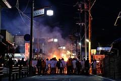 XF56mmF1.2 R (TimothyHall.org) Tags: xf56 xf56mmf12r xf56mm xt3 fujifilmxt3 fujifilm fujinon 撮って出し 富士フィルム フジノン 85mm 滋賀 shiga 祭り festival 夜 火 night fire matsuri 関西 近畿 prefecture japan 日本