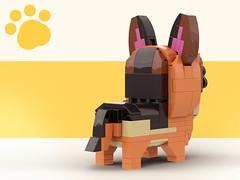 Lego Doggo_German Shepherd2 (legotruman) Tags: lego legomoc legoideas legogram legomania legofan afol dog puppy dogs german shepherd legoart brickcentral animal toyphoto plush legophoto cute kawaii adorable aww