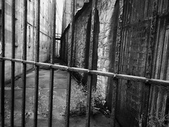 Attachment black and white fence (pitysing) Tags: easternstatepenitentiary prison tourism blackandwhite