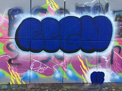 Regn (svennevenn) Tags: gatekunst bergen streetart graffiti bergengraffiti sentralbadet nøstet