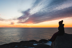 It's a new dawn ... (vanessa violet) Tags: sunrise capespear goodvibes feelinggood itsanewdawn vanessaviolet newfoundland toque snowsuit