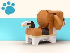 Lego Doggo_Beagles 2 (legotruman) Tags: lego legomoc legoideas legogram legomania legofan afol dog puppy dogs beagle shibe pug husky puppies german shepherd legoart brickcentral animal toyphoto plush legophoto cute kawaii adorable aww