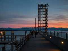 The Moleturm at Friedrichshafen (plume-rider (randomly on-line)) Tags: moleturm moletower friedrichshafen alps lakeconstance bodensee panasonic gx85 lightroom photoshop topaz